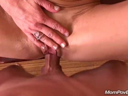Match MILF sucks and fucks younger cock