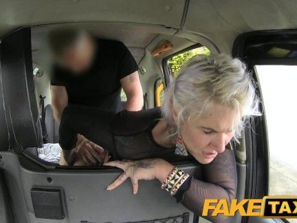 FakeTaxi Tattooed woman loves soiled anal