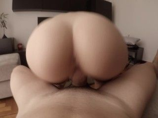 Morning creamy quickie to have fun a million views ♡ (WITH CREAMPIE!)