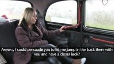 FakeTaxi - Scottish blonde with an enormous ass