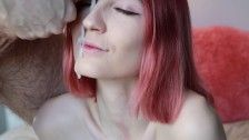 Younger young loves driving cock and taking facial, homemade porn pov - Shinaryen