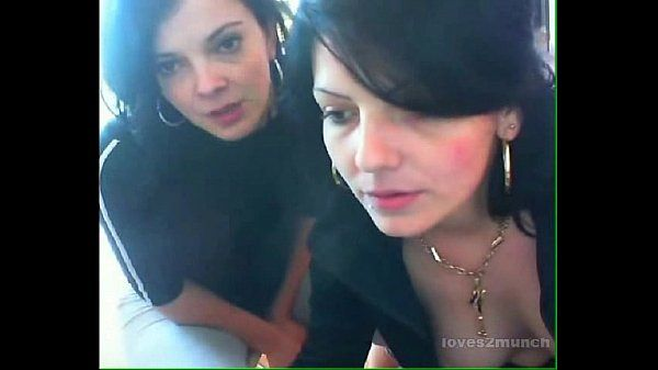 Beautiful Real Life Mother and Daughter Play on Cam