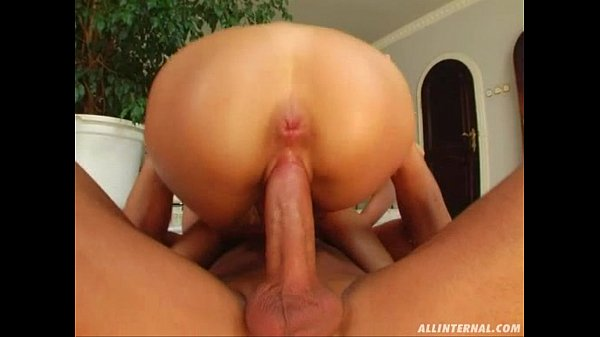 All Internal Blonde gets nailed and a thick load of cum oozes out