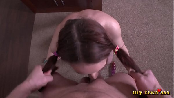 My Teen Ass - Dady Punishes Step Daughter With a Wild Suck and Powerful Fucking