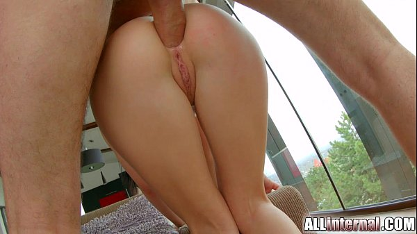 All Internal Teen squirts anal creampie from her butt
