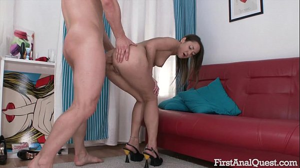 FirstAnalQuest.com - SENSUOUS TEEN ANAL PORN SHOOT WITH THE SEXY ANGELINA MORI