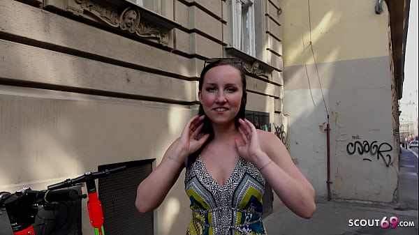 GERMAN SCOUT - NATURAL COLLEGE TEEN 18 BELLA PICKUP AND FUCK AT STREET CASTING